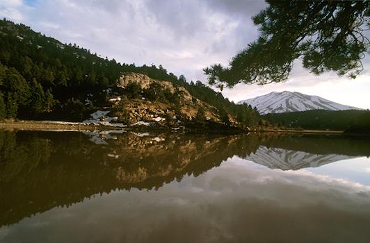 Λίμνη Δασίου, πάνω από τα Τρίκαλα Κορινθίας