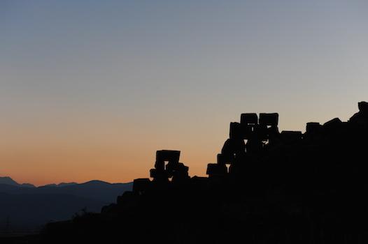 Αρχαία Δρυμαία, Καλλίδρομο Βοιωτίας