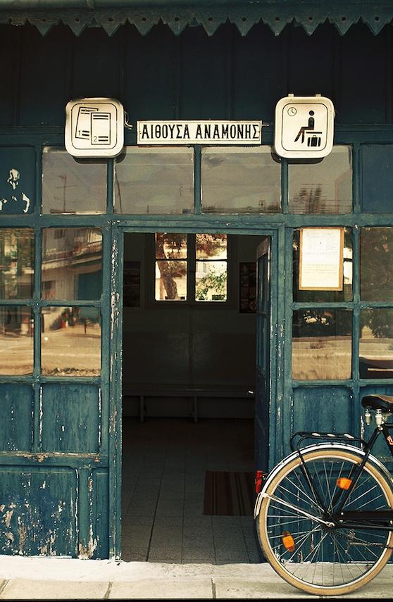 Σιδηροδρομικός σταθμός στον Φωτολίβο