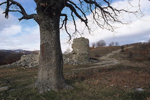 Το οθωμανικό φυλάκιο στο χωριό Λογγά κοντά στη Δεσκάτη